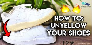 How to unyellow your shoes